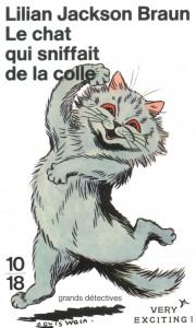 Le chat qui sniffait de la colle - Lilian JACKSON BRAUN
