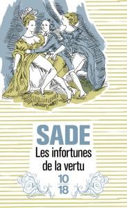 Les infortunes de la vertu - Marquis de SADE