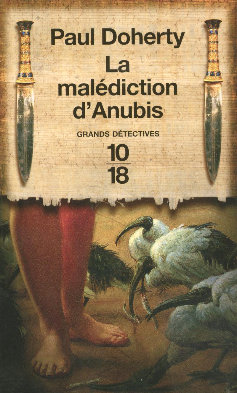 La malédiction d'Anubis - Paul DOHERTY