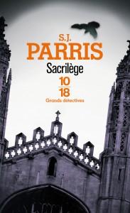 Sacrilège - S. J. PARRIS