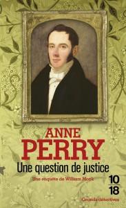 Une question de justice - Anne PERRY